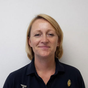 Louise - one of the physiotherapists in the team