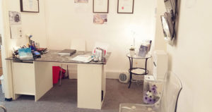 Contact the clinic - Reception area in County Physio